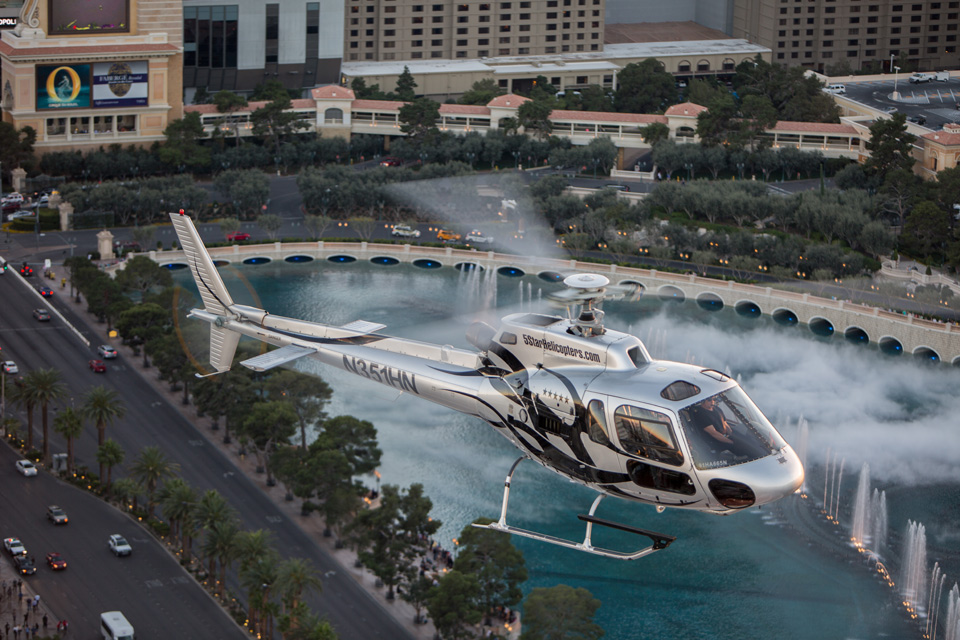 5 Star Grand Canyon Helicopter Tours bellagio