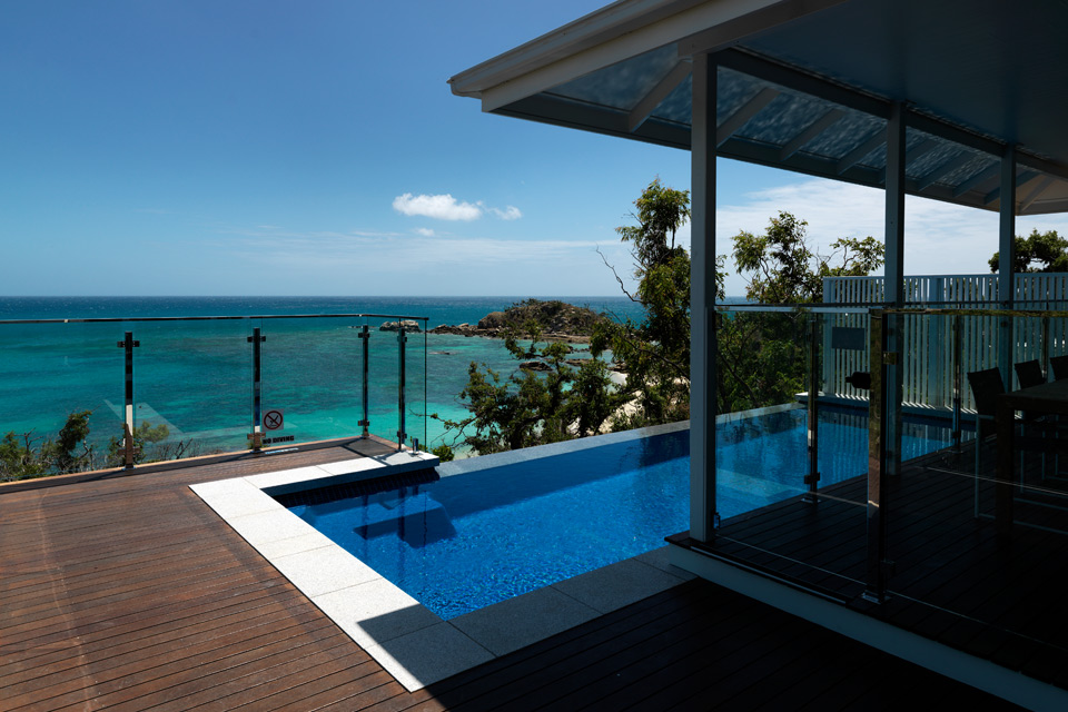 lizard island australia villa sea view