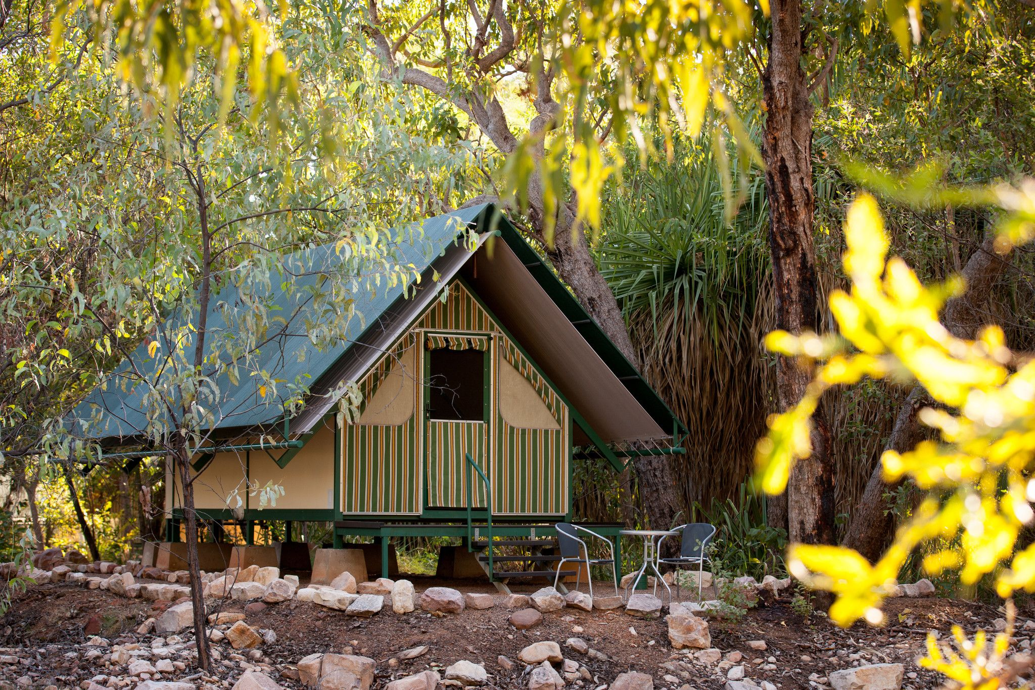 emma gorge australia tented camp